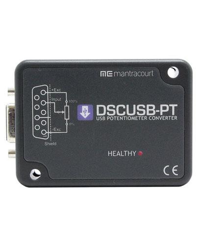 DSCUSB-PT Compact high-precision potentiometer input to digital output module