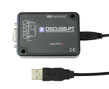 Digital Sensor Card USB – Potentiometer Input (DSCUSB-PT)