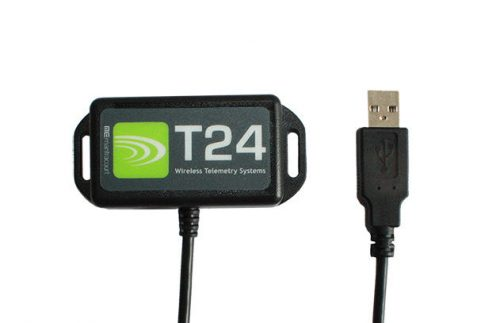 Wireless telemetry USB radio base station required for the configuration of all T24 acquisition modules