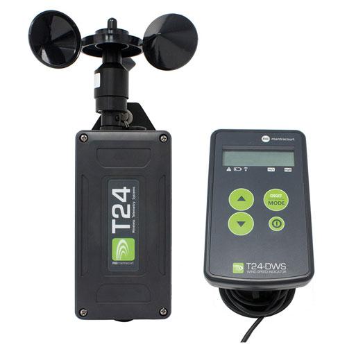 Wireless Wind Speed Sensor System (T24-WSS and T24-DWS)