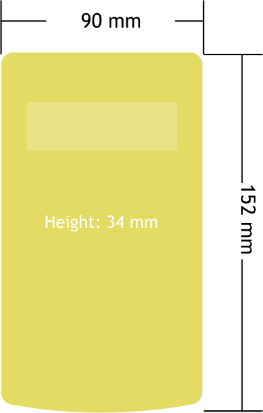 X24-HD Dimensions Diagram