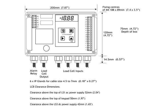 Dimensions of LA20LR1S1PLTL